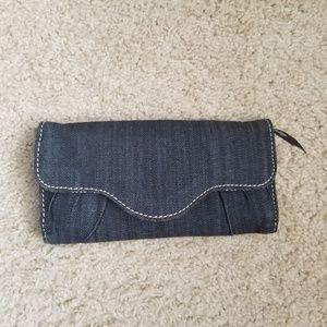 Thirty One 31 denim wallet